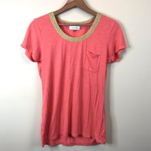 Calvin Klein Coral T-shirt
